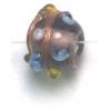 Glass Beads 6mm Round Amethyst Bumpy Beads